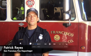 Burn Safety Tips with Firefighter Patch