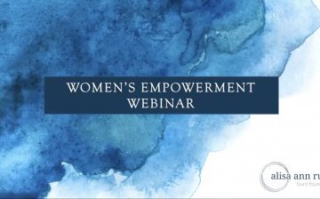 Women's Empowerment Webinar